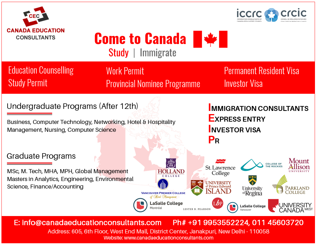 Education Agents In Canada, Agents In Canada
